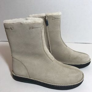 Polo Sport Ralph Lauren Suede Shearling  New SZ 6
